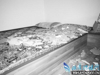 天花板出现掉水泥块属于质量问题吗?买的房子质量有问题该找什么部门解决?