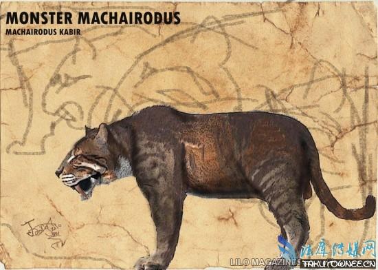 史前最大的猫科动物全家福