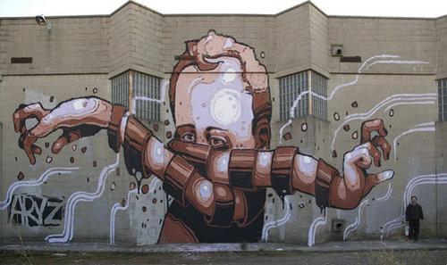 巴塞罗那街头涂鸦照片组图,街头涂鸦会被警察抓吗?