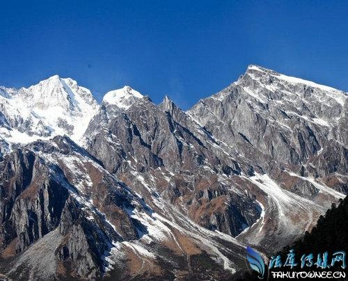 贡嘎冰川年退20米,贡嘎雪山的详细位置在哪里?