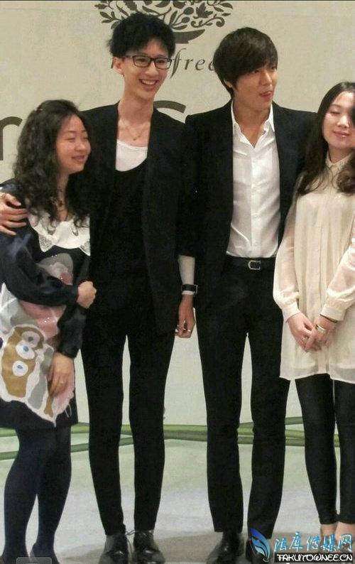 韩星李敏镐的身高是多少?李敏镐的腿有多长?