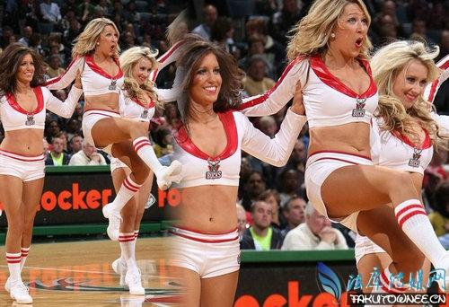 nba篮球宝贝大秀赛场尴尬照片,NBA篮球宝贝工资多少钱?