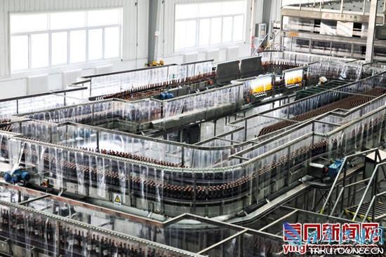 营口百威啤酒跻身国际一流啤酒酿造厂