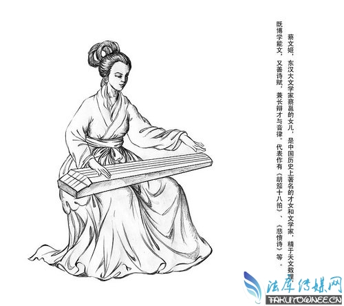 蔡琰回中原后嫁给了谁?蔡文姬和曹操两人是什么关系?