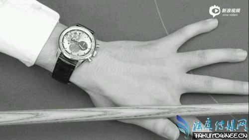 丁俊晖戴的是什么手表?手表为什么现在那么贵?