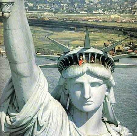 自由女神像能上去玩吗 自由女神像是谁设计出来的作品