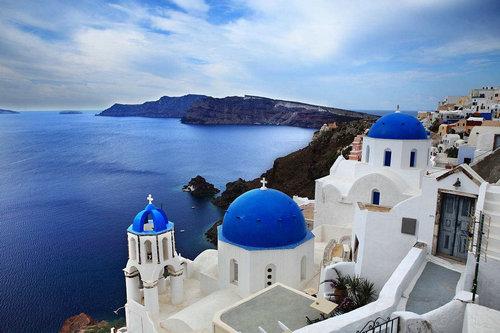 圣拖里尼岛是哪个国家的?希腊爱琴海的由来传说