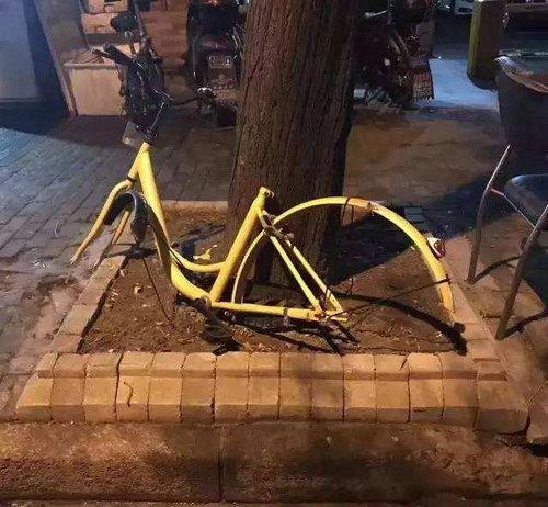 ofo单车为什么那么多损坏的?小黄车被刮了二维码后怎么办?