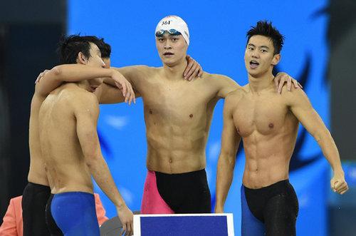 宁泽涛和孙杨相比谁的身材更好?宁泽涛和孙杨身高相差多少?