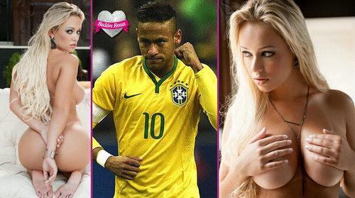 内马尔被曝玩遍巴西美女,内马尔现在结婚了没有?