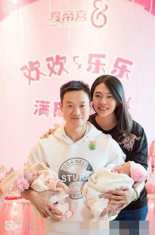 杨威二胎的双胞胎女儿是试管?杨阳洋双胞胎妹妹正面照片曝光