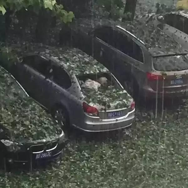 下冰雹时打在车上没事吧?冰雹砸坏了车保险公司赔偿吗?