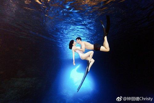 钟丽缇张伦硕潜水照片在哪里拍的?哪里旅游可以顺便潜水拍照?