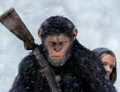 猩球崛起3大猩猩凯撒的扮演者是谁?猩球崛起3在北美的票房如何?