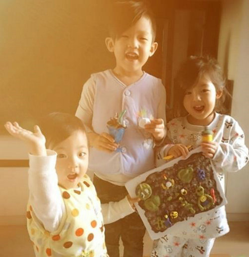 爸爸去哪儿五刘�u宏带的小泡芙其实是二女儿,刘�u宏的女儿为什么叫做小泡芙真名是什么?
