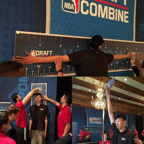周琦的臂展有多长?臂展在打篮球时作用很大吗?