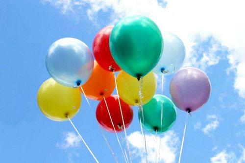 氢气球最高能飞多高?氢气球怎么才能降落?