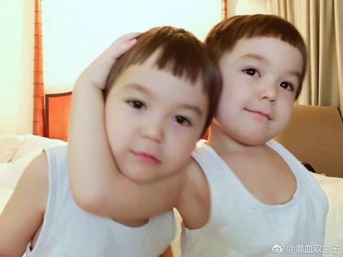 不可思议的妈妈双胞胎是哪过的混血?不可思议的妈妈双胞胎爸爸是谁资料照片
