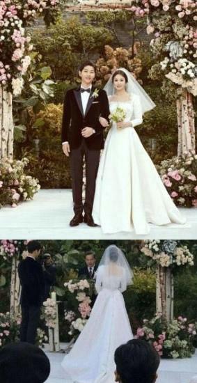宋慧乔的婚纱多少钱?网友直呼宋慧乔婚纱太难看了