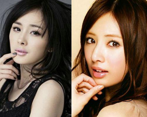 长相酷似杨幂的女星中她最火,陈丹婷和卓亨瑜谁更像杨幂?