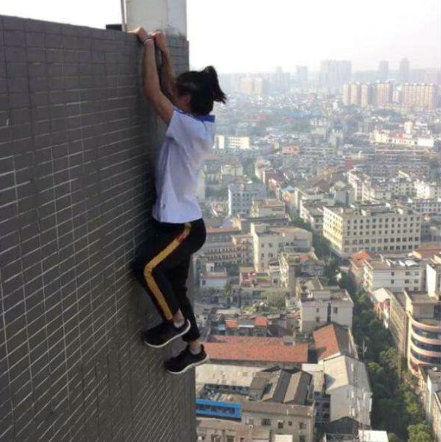 极限网红吴永宁为什么会坠楼?吴永宁为什么要玩极限运动?