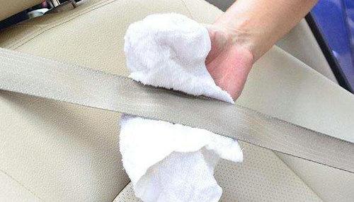 汽车安全带怎么清洗?汽车安全带怎么拆卸?