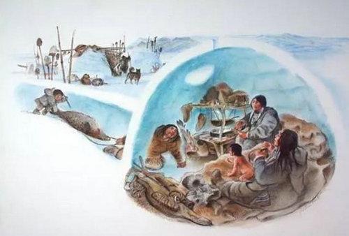 爱斯基摩人生活在哪里 爱斯基摩人冰屋的室内温度是多少