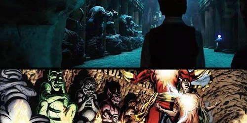 雷霆沙赞的七种情绪分别是什么 七宗罪对应的恶魔是什么
