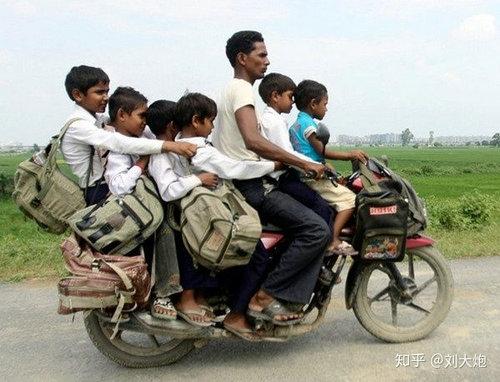 印度的摩托车是什么梗 印度的摩托车能拉多少人