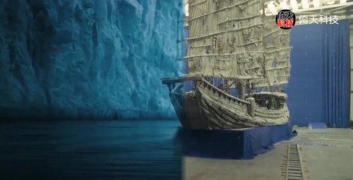 加勒比海盗拍摄的船是真的吗 是特效还是实景