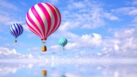 热气球上升的原理 热气球是烧的什么燃料