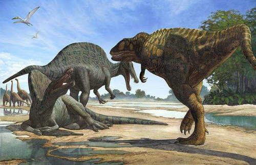 食草恐龙为什么比食肉恐龙体格大