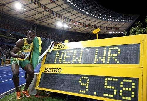 百米世界记录相当于每小时多少公里 百米记录还能提升吗