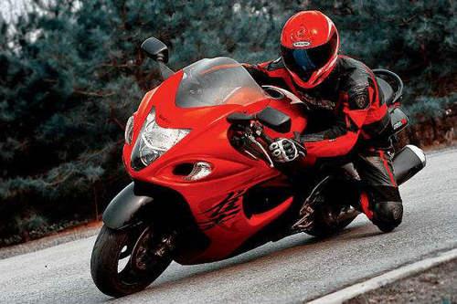 摩托车压弯为什么伸膝盖出去 膝盖是擦地吗