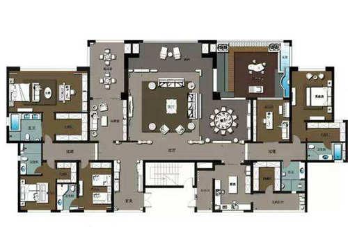 大平层是什么意思 多大面积的房子算大平层