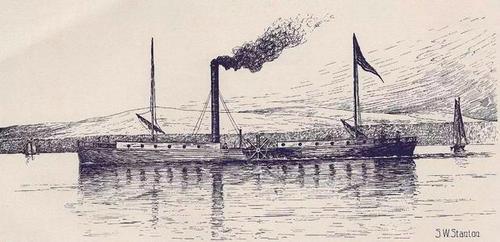 世界第一艘轮船是哪时候发明的 发明者是谁