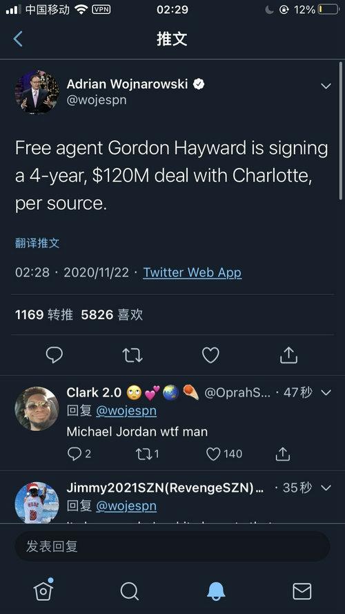 海沃德1.2亿签约黄蜂 乔老板又现神操作