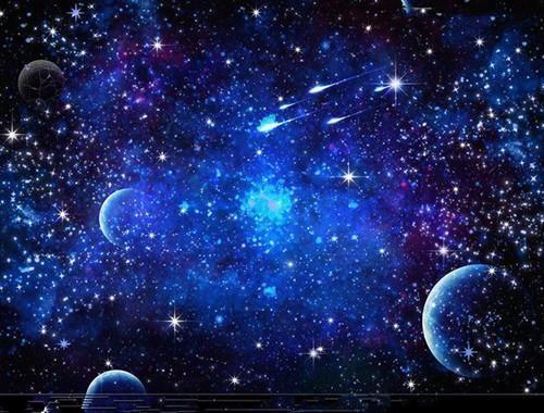 宇宙的星球为什么能悬空不掉下来