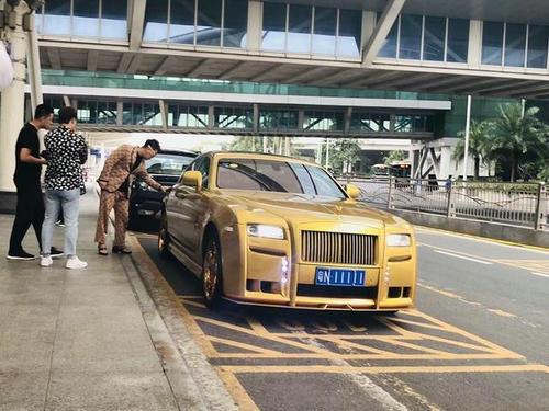 粤N11111镀金劳斯莱斯车主是谁 这辆车值多少钱