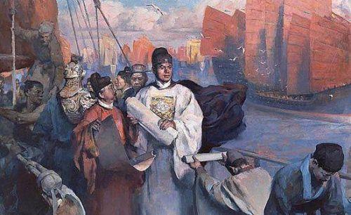 相比起哥伦布发现新大陆,郑和下西洋还要早了几十年的时间