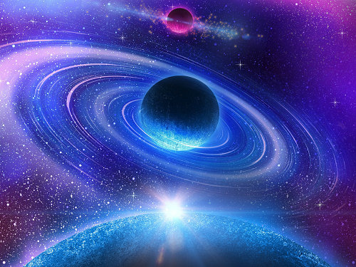 宇宙中的行星为什么都是圆形 星球圆形的原因