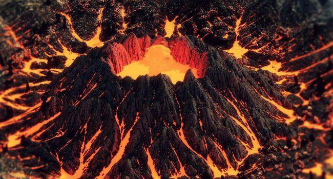 火山爆发是生命现象吗 火山为什么会爆发