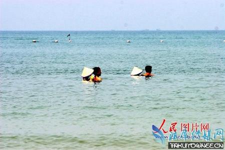 广西北海银滩陪泳女,现在陪泳女还有吗?
