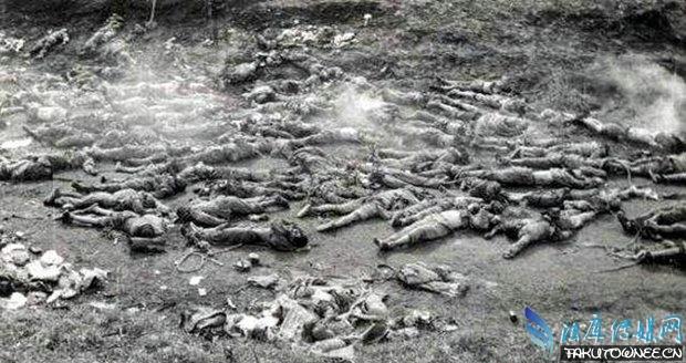 惨烈战争下女人老照片,二战处死女人老照片