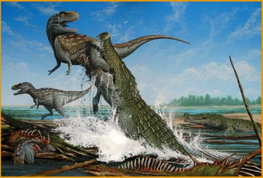 根据研究,古生物学家对于恐鳄的身长估计值,较之前的估计值短。由于恐鳄的化石相当破碎,关于恐鳄的身长,目前有差异相当大的不同估计值。在1954年,墨西哥戈兰德恐鳄最大标本AMNH 3073被认为有15米,而北方个体CM 963则是16米,但是这个估计已经不被采用,不过大卫·史威莫估测的体形由于采用的不正确的卫星头骨(~2米)数据而被质疑,而他本人2008年在视频上面改变了看法,把最大个体估测下降到了3.