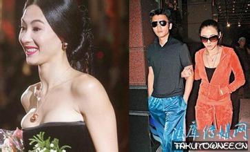 张柏芝评价王菲谢霆锋接吻照片,张柏芝在泰国疑养小鬼